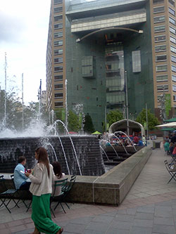 Detroit fountain