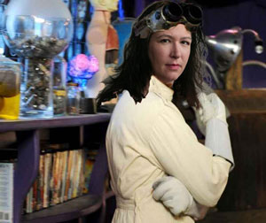 Jacqueline Carey as Dr. Horrible - thanks, Kim!
