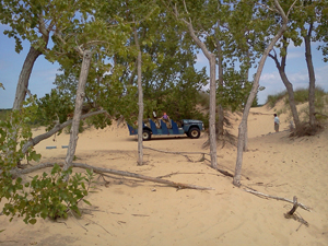 Dune Schooner Rides!